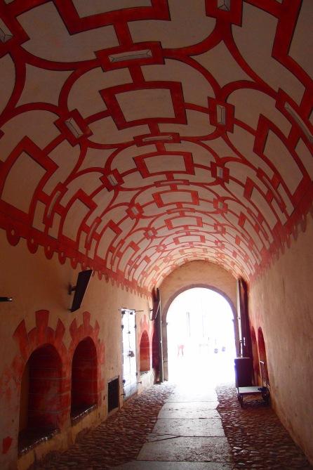Inside Kalmar Castle