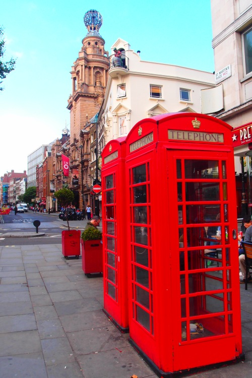 Love the Red Telephone Booth